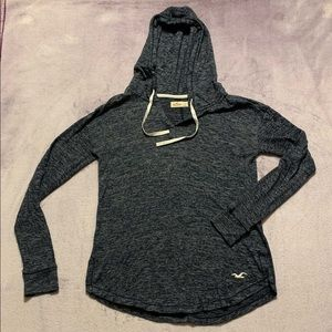 Hollister Hooded Pullover, Size Small.